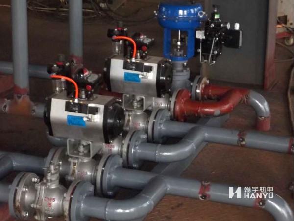 化工厂工程实例—电气设备 电子仪表 管道安装 热工